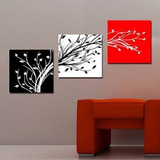 online shop picture superb canvas print charm beautifulcharm huge huge charm wall hanging art red white black tree 70 no frame  on black and white wall art sets with espritte art large abstarct art red and black and white branches
