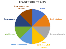 Characteristics Of Pie Chart What Makes An Effective Leader Principles Of Management