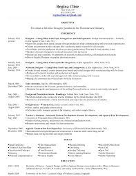 Objective For Fashion Merchandising Resume Professional Resume