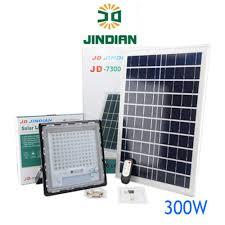 ĐÈN LED NĂNG LƯỢNG MẶT TRỜI, JINDIAN JD7300 (300w), Chính hãng mới 100%,  Bảo hành 2 năm