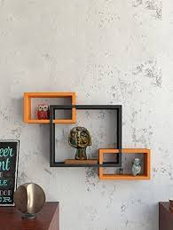 wooden wall shelves rack living decor interscting floating shelf by sunshine wood ping for wall shelves in india 14872529