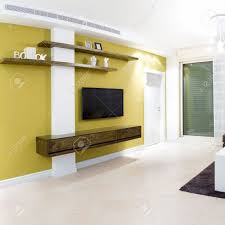 New Interior Designs For Living Room Interior Design In A New House Stock Photo Picture And Royalty