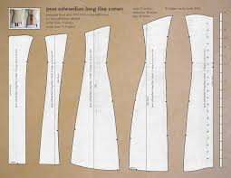 Corset Pattern Free Classy Bridges On The Body Titanic Era Corset And Pattern