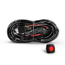 How Many Amps Do Led Light Bars Use Nilight Off Road Atv Jeep Led Light Bar Wiring Harness Kit 40 Amp Relay On Off Switch Included