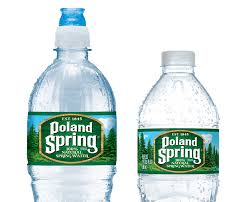 bottles of poland spring water