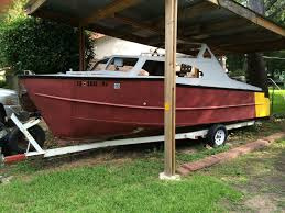 lone star boat works diy projects 1965 lone star 22 ft cabin when we found it diy