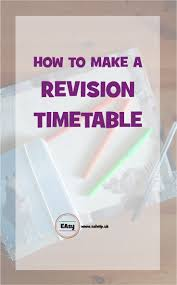 1000 ideas about revision timetable gcse revision making a revision timetable will make revising for your exams so much easier and less stressful