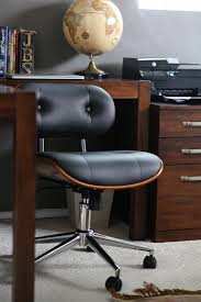 modern office chair leather. Swivel Office Chairs With Wheels Modern Rolling Desk Chair . Leather