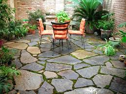 flagstone patios patio cost vs stamped concrete full size