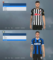 The points are shared in the derby della lanterna after genoa's scamacca equaled out jankto's early strike for sampdoria. Pes 2017 G Scamacca And A Bastoni Tattoo Patchi I Mody