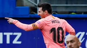 La Liga Top Scorer Lionel Messi Wins Record Equalling Sixth