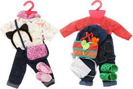 <b>Gotz Набор</b> летней <b>одежды</b> и аксессуаров для кукол 16 ...