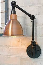 sconce lamp shades best ideas wall lamp shades polished ager copper shade swing arm wall lamp