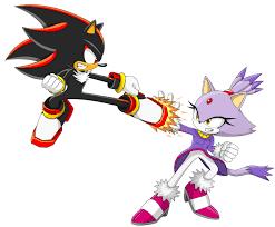 Shadow The Hedgehog Vs Blaze The