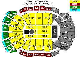 Sprint Center Detailed Seating Chart 40 Precise Sprint Center Seating Capacity