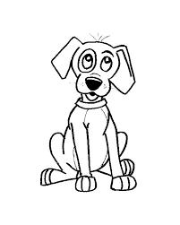 Hond Kleurplaat Jouwkleurplaten