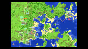 download map world minecraft  major tourist attractions maps