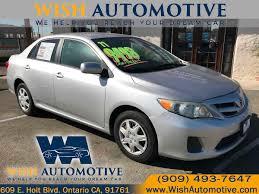 2011 Toyota Corolla Base - Wish Automotive