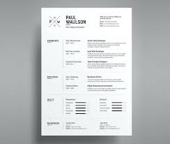 Cv Template Design Doc Free Download Resume Ideas Creative Best On