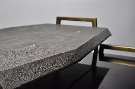 stingray furniture. ginger brown stingrayshagreen nesting tablefaceted faceted furniturefacetedu2026 side tables pinterest furniture and stingray