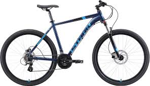 Велосипед кросс-кантри <b>Stark</b>'19 Router HD, голубой, черный ...
