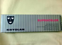 kryolan supracolor makeup palette with 6 colours