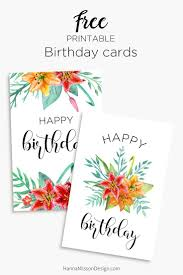 Printable Note Cards Best 25 Printable Happy Birthday Cards Ideas On Pinterest