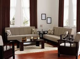 living room sofa ideas: in this living room there is a simple and elegant color palette with matching minimal sofas