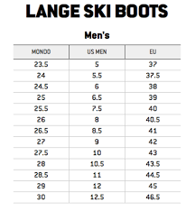 Rational Belleville Boots Sizing Chart Size Chart For Ski