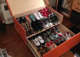 nike sneaker box storage via theprofessor113