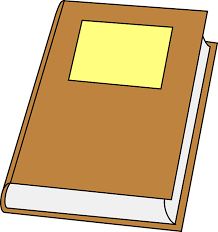 book closed brown hard cover le blank public domain clker free vector images
