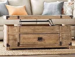 Every decorative trunk is one part coffee table, one part storage chest, and one part decorative art. 26 Best Lift Top Coffee Table Ideas Decor Outline