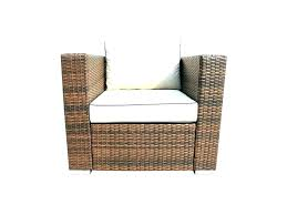 inspirational black wicker patio furniture for outdoor replacement cushions canada