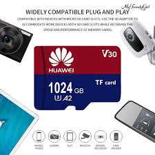 hàng Mới Về) Thẻ Nhớ Hua Wei U3 512gb / 1tb Mini Tf Micro Cho Điện Thoại Máy  Ảnh - Thẻ nhớ và bộ nhớ mở rộng