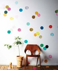 diy dorm room decor ideas beci orpin s giant confetti wall diy dorm decor
