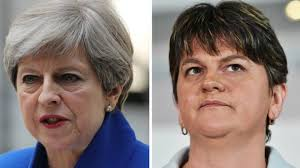 Image result for DUP Tory arrangement