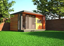 office in the garden. Delighful The Flat Roof Garden Offices Are Very Popular And Whilst There Several  Covering Options With Office In The Garden