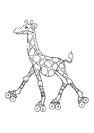 Coloriage Girafe Sur Hugolescargot Com
