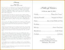 Church Program Templates Free Download Template For Church Program Samples Free Sample Example