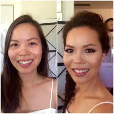 blush before and after. hawaii-napa-san-francisco-napa-blush-wedding-makeup- blush before and after