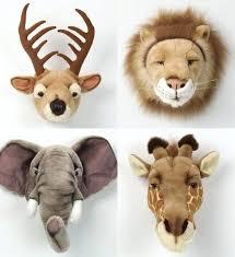 plush animal head wall mount plush animal head wall mount large plush wall mounted animal heads