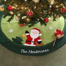 Personalized Santa Christmas Tree SkirtChristmas Tree Skirt Clearance