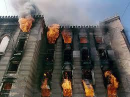 Image result for izgorjela vijecnica u sarajevu 1992