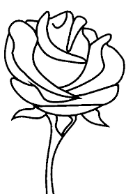 Small Picture Beautiful Rose Picture Coloring Page Download Print Online