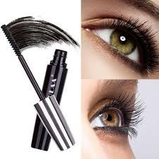 black eyelashes women big eyes silk fiber eyelash 4d mascara makeup extension e
