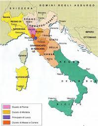 STORIA: L'ITALIA DOPO IL CONGRESSO DI VIENNA