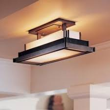 flush mount ceiling lights for kitchen. Steppe Rectangle Semi Flush Ceiling Light. Mount Kitchen Lights For C
