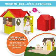 Maison Smoby My House B Che De Protection Couleur Garden Maison Smoby My House Bache De Protection