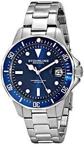 17 best images about stuhrling original men s 490 33151 classic stuhrling original men s 664 02 aquadiver stainless steel date watch link