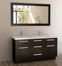 60 Inch Double Sink Bathroom Vanity with Quartz Top UVDEJ60DS60